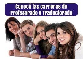 estudia profesorado y traductorado